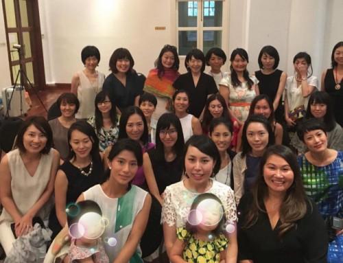 中野円佳さん・畑山理沙さんとスペシャル対談 in シンガポールを開催しました