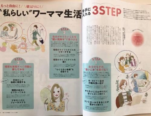 雑誌 CHANTO(主婦と生活社)12月号に「MYコンパスメソッド」が掲載されました!