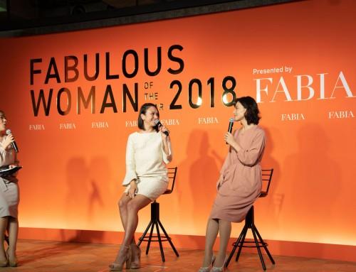 輝く女性を選出するアワード「FABULOUS WOMAN OF THE YEAR」に協賛しました
